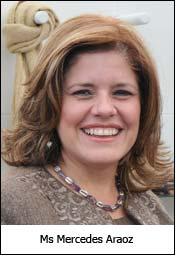 Ms Mercedes Araoz