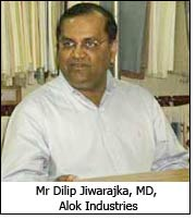 Mr Dilip Jiwarajka, MD, Alok Industries