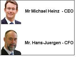 BASF executives to take over Ciba CEO and CFO roles