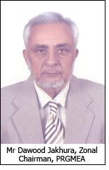 Mr Dawood Jakhura, Zonal Chairman, PRGMEA