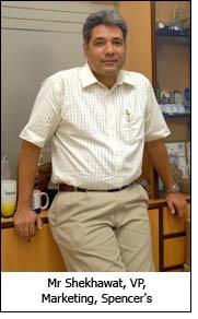 Mr Shekhawat, VP, Marketing, Spencer