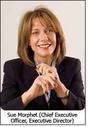 Sue Morphet (Chief Executive Officer, Executive Director)