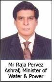 Mr Raja Pervez Ashraf, Minister of Water & Power