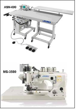 ASN-690 & MS-3580 to support serging & lapping process