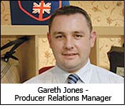 Gareth Jones - Producer Relations Manager