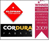 Klopman Vantage featuring CORDURA wins Fabric & Fibre Innovation Award