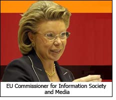 EU Commissioner for Information Society and Media