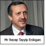 Mr Recep Tayyip Erdogan