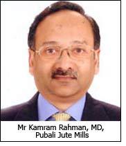 Mr Kamram Rahman, MD, Pubali Jute Mills