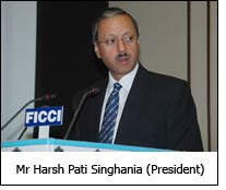 Mr Harsh Pati Singhania (President)