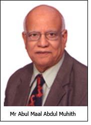 Mr Abul Maal Abdul Muhith