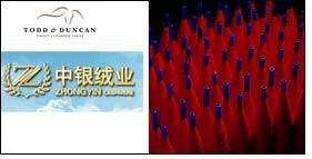 Ningxia Zhongyin weaves Todd & Duncan cashmere business