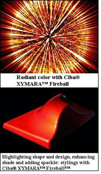 XYMARA Fireball suitable for numerous applications
