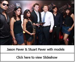 Jason Paver & Stuart Paver with models
