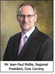 Mr Jean-Paul Mollie, Regional President, Dow Corning