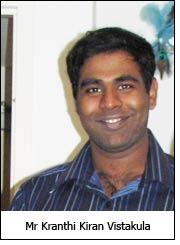 Mr Kranthi Kiran Vistakula
