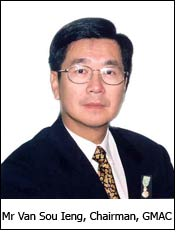 Mr Van Sou Ieng, Chairman, GMAC