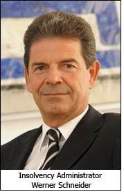 Insolvency Administrator Werner Schneider