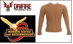 DRIFIRE's FR clothes now NTOA 'Member Tested and Recommended'