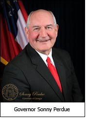 Governor Sonny Perdue