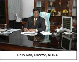 Dr JV Rao, Director, NITRA