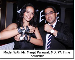 Model With Mr. Manjit Purewal, MD, PA Time Industries