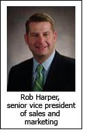 Rob Harper, senior vice president of sales and marketing