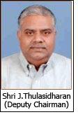 Shri J.Thulasidharan (Deputy Chairman)