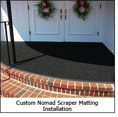 Custom Nomad Scraper Matting Installation