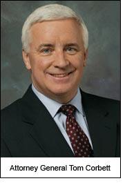 Attorney General Tom Corbett