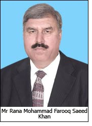 Mr Rana Mohammad Farooq Saeed Khan