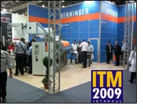 Benninger Textile Finishing with successful ITM in Istanbul