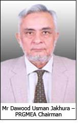 Mr Dawood Usman Jakhura – PRGMEA Chairman