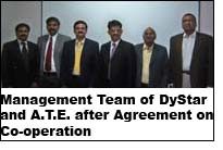 Management Team of DyStar and A.T.E. after Agreement on Co-operation