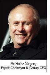 Mr Heinz Jürgen, Esprit Chairman & Group CEO