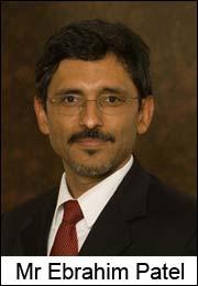 Mr Ebrahim Patel