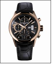 Freelancer pink gold date chronograph - timepiece full of style!