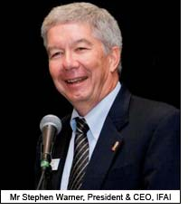 Mr Stephen Warner, President & CEO, IFAI