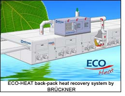 ECO-HEAT back-pack heat recovery system by BRÜCKNER