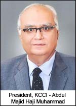 President, KCCI - Abdul Majid Haji Muhammad