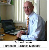Richard Poole, European Business Manager
