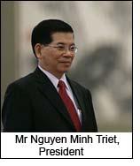 Mr Nguyen Minh Triet, President