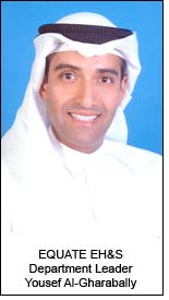EQUATE EH&S Department Leader Yousef Al-Gharabally