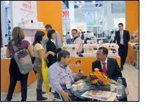 Orders coming to Feiyue in Canton Fair reach a new height