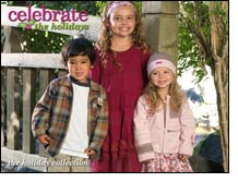 Celebrate winter holidays with festive styles for children