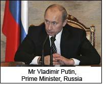 Mr Vladimir Putin, Prime Minister, Russia