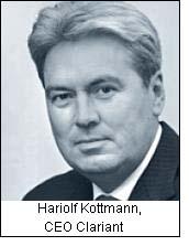 Hariolf Kottmann, CEO Clariant