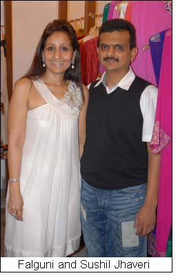 Falguni and Sushil Jhaveri