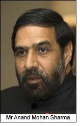 Mr Anand Mohan Sharma
