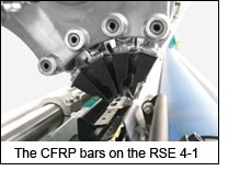 The CFRP bars on the RSE 4-1